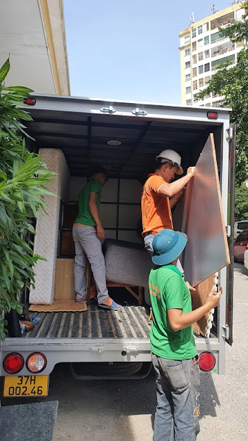 Taxi tải chuyển nhà thành vinh
