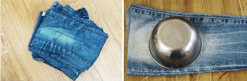 Perfect Circle Zip Pouch Box. DIY step-by-step Tutorial in Pictures.