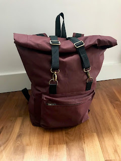 Waxed Cotton Desmond Backpack