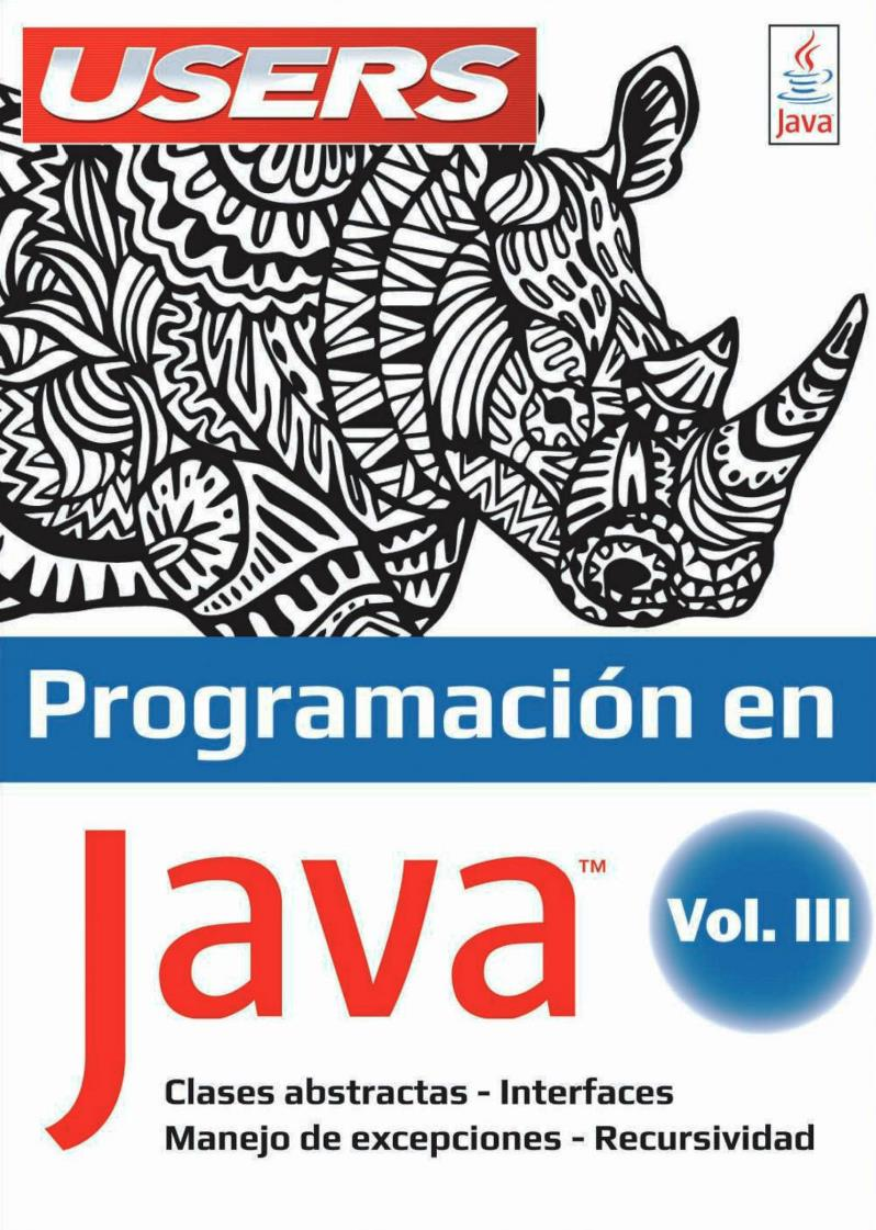 Programación en Java, Volumen 3 – USERS