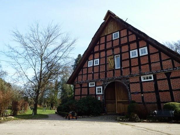 natürlich Bauernhof Radfahren Emsland