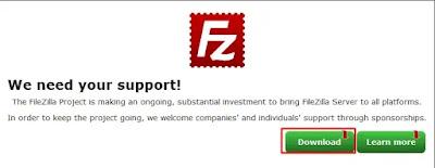 Unduh FileZilla Server 2