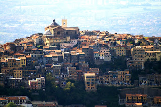 Monte Compatri is one of the Castelli Romani towns to the southeast of Rome