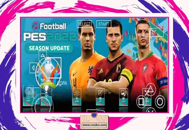 PES CHELITO V8.1 2021 Iso PPSSPP Update UEFA EURO 2020