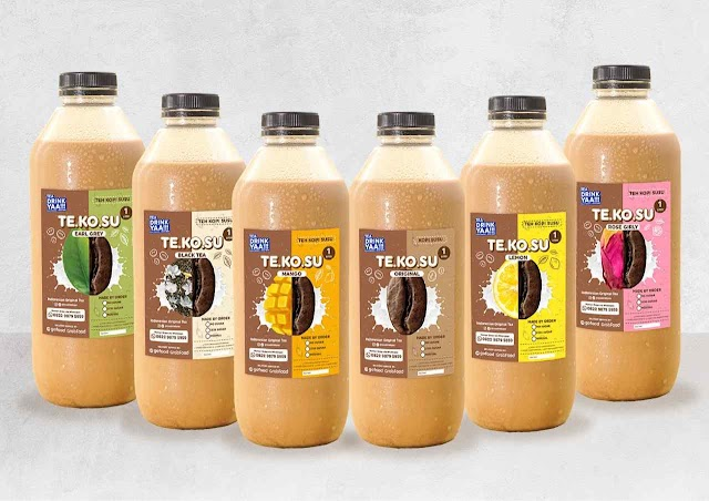 Tea Drink Yaa!!! Hadirkan TEKOSU dengan Enam Varian Kombinasi Teh Asli Indonesia
