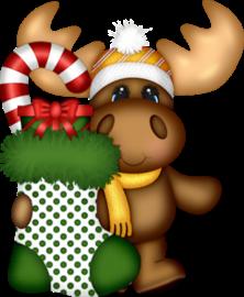Imágenes de Renos en Navidad