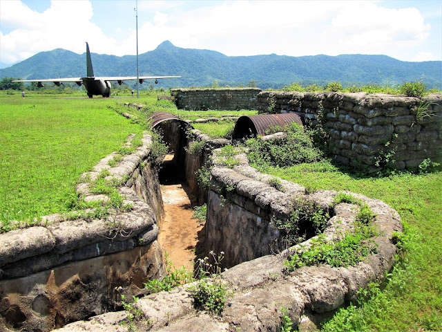 bunker plane khe sanh combat base dmz vietnam world away