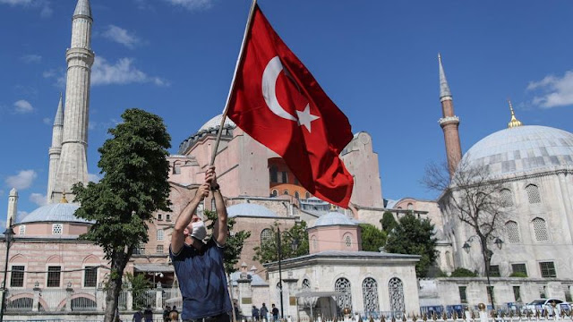 Erdogan says Hagia Sophia to be reopened as Mosque