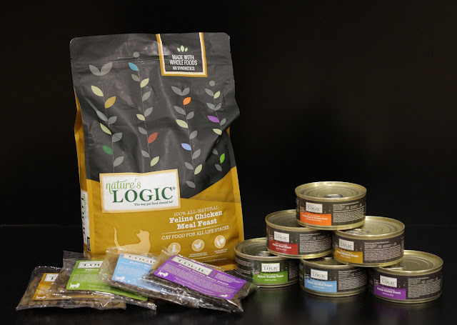 Nature's Logic cat food giveaway prize pack