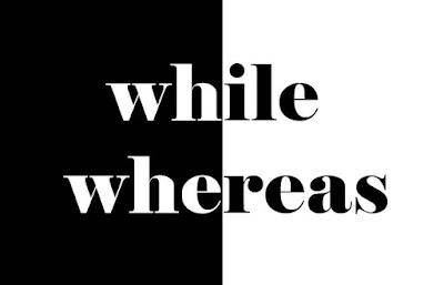 Membandingkan Perbedaan dengan Menggunakan While dan Whereas