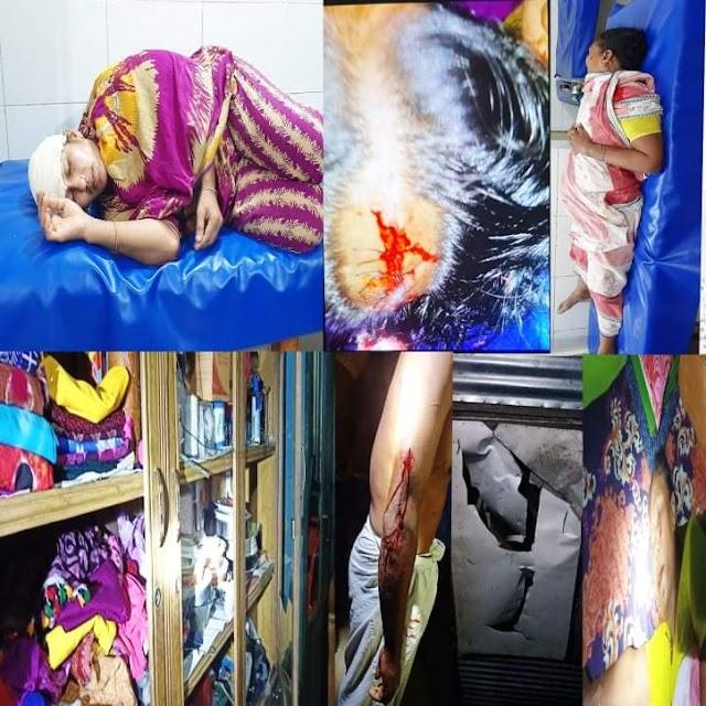 সোনারগাঁয়ে প্রতিপক্ষের হামলায় বাড়ি-ঘর ভাংচুর ও লুটপাট, আহত-৪