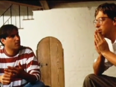 Steve Jobs and Bill Gates
