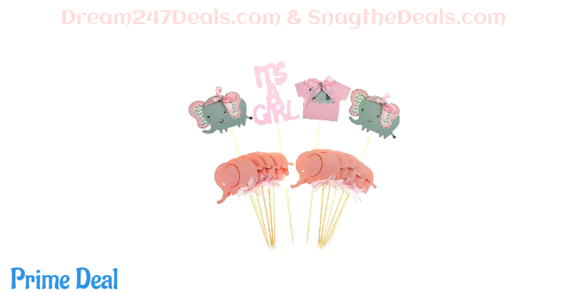 50% off Jinhua mike Baby Shower Cake Toppers Baby Girl Shower Party