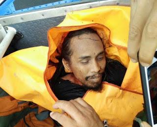 Jenazah diduga Santoso tiba di Palu