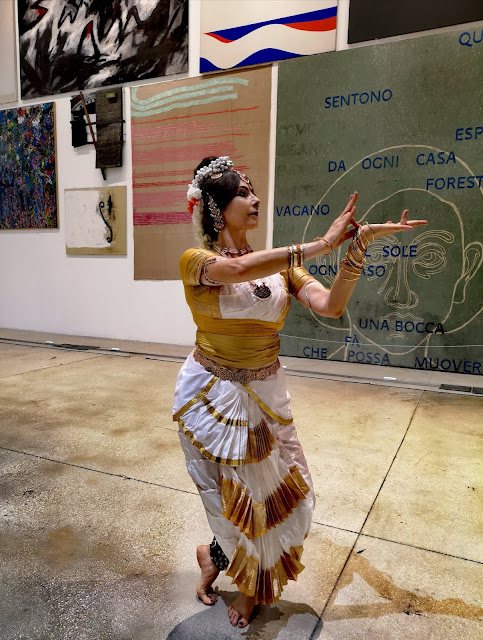 Museo Macro Museo d'Arte Contemporanea Roma Danza  Indiana Bharata Natyam