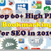 Top 60+ DoFollow Social Bookmarking Site for SEO in 2019