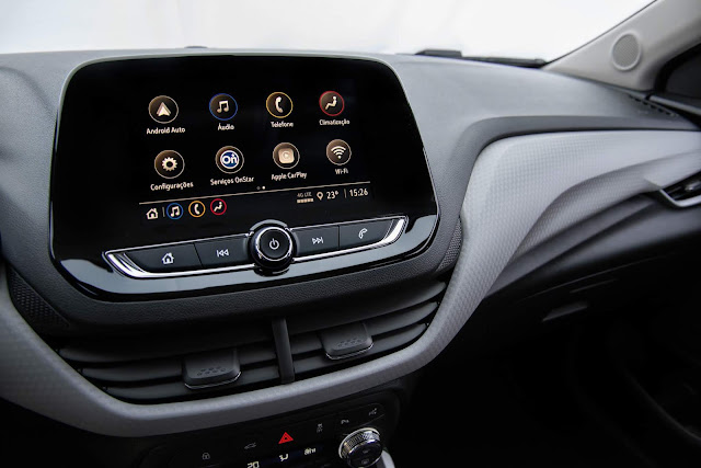 Novo Onix 2020 Sedan (plus) - central multimídia