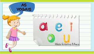 Plano de aula vogais BNCC Educação Infantil ensino remoto