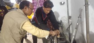 अमरवाड़ा विधायक शाह ने स्वयं के निजी खर्च से हर्रई नगर में जिम का किया शुभारंभ