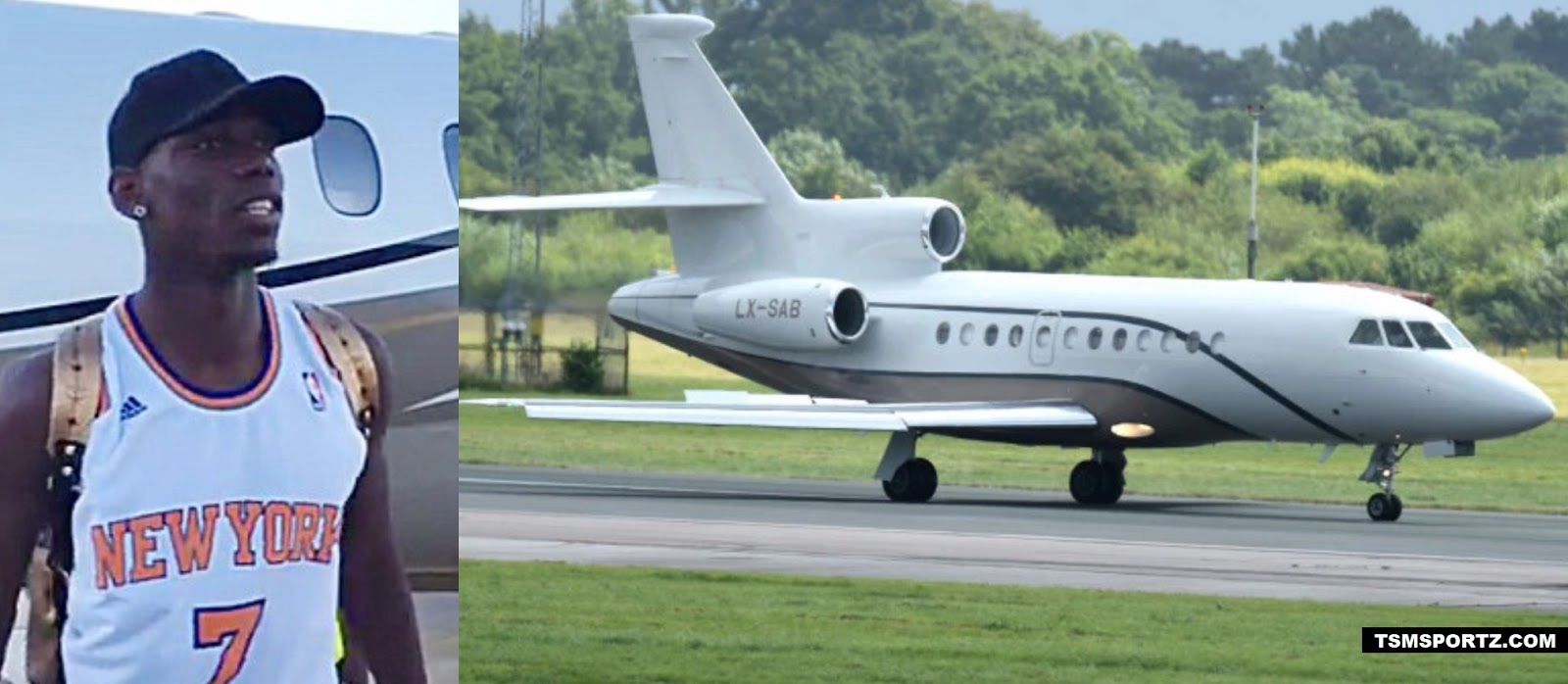 how much expensive is pogba private jet