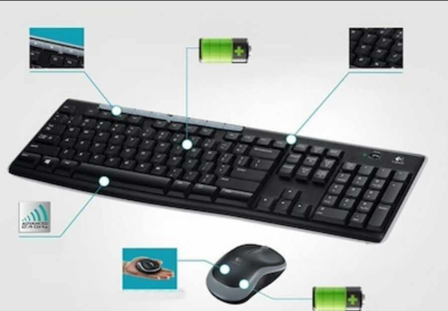 Logitech MK270 Wireless Keyboard and Mouse Buy Online
