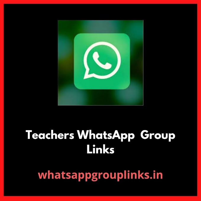 Join Teachers Whatsapp Group Links
