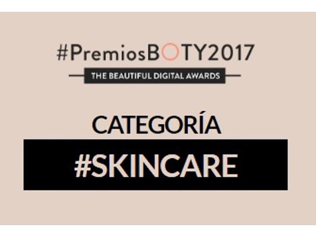 Premios Boty2017 skincare