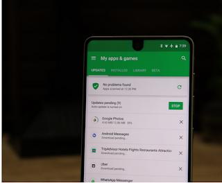 Download Tertunda di Play Store Xiaomi Mi A1 atau Tipe Android Lain