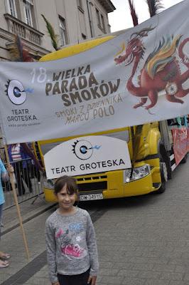 Parada smoków- Kraków