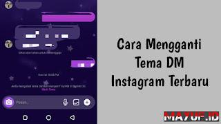 Cara Mengganti Tema DM Instagram Terbaru