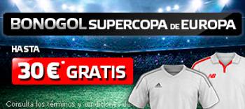 suertia bonogol 30 euros Supercopa de Europa Real Madrid vs Sevilla 9 agosto