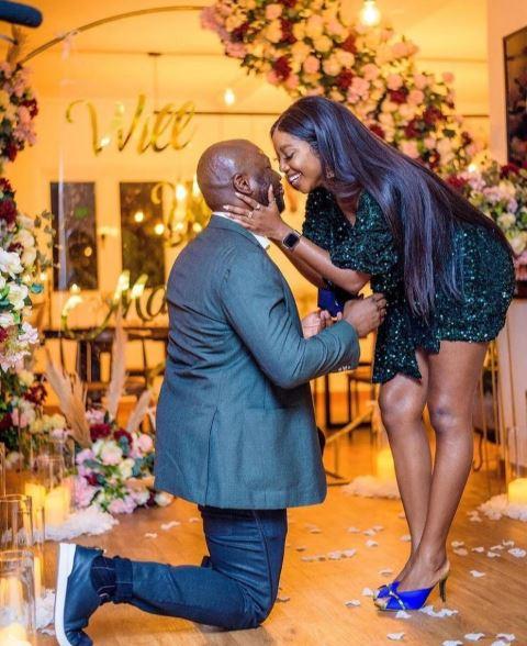 Inidima Okogie Got Engaged