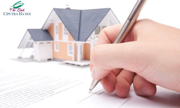 Ký hợp đồng mua căn hộ chung cư The Link Ciputra