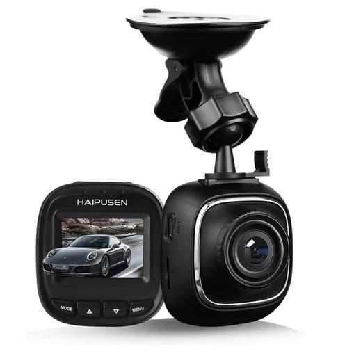 HAIPUSEN FHD Mini Dash Cam Car Camera with G-Sensor