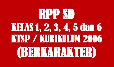 Hasil gambar untuk rpp sd KTSP