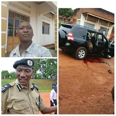Graphic: Uganda Police Spokesperson, his bodyguard and driver shot dead