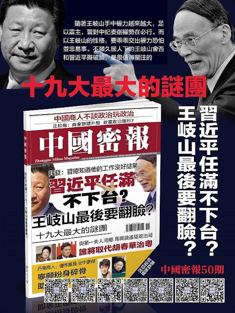 《中国密报》第50期出版,精华将发《明镜邮报》