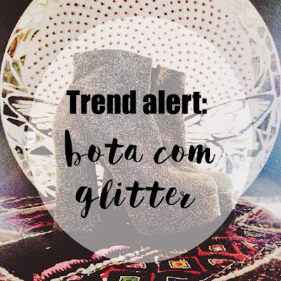 bota com glitter