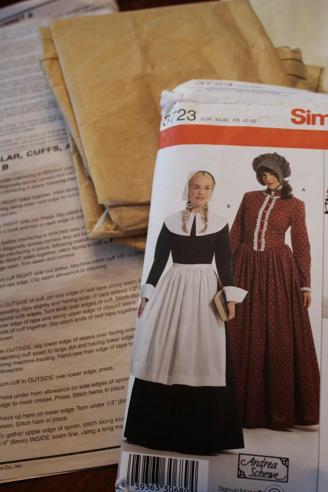 Pilgrim costume  sc 1 st  Ohio Thoughts - Blogger & Ohio Thoughts~: Pattern Savers