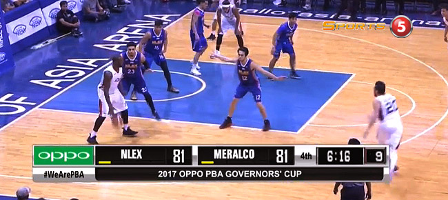 NLEX def. Meralco, 100-94 (REPLAY VIDEO) August 13