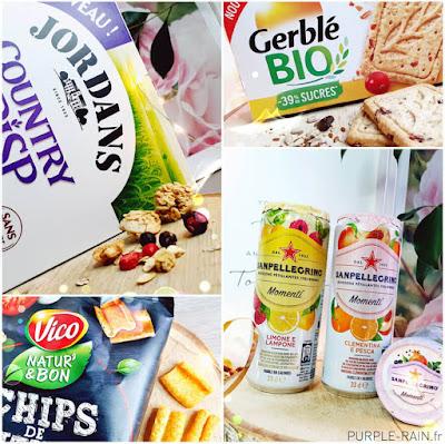 Unboxing Degusta Box de Septembre : Saine et Gourmande