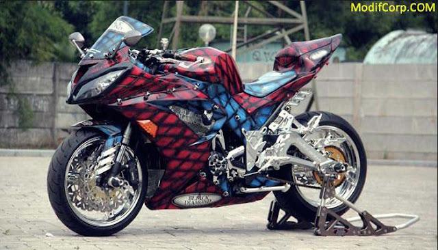 Gambar Modifikasi Motor Ninja 4 Tak