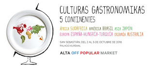 Culturas Gastronomikas San Sebastián 2016