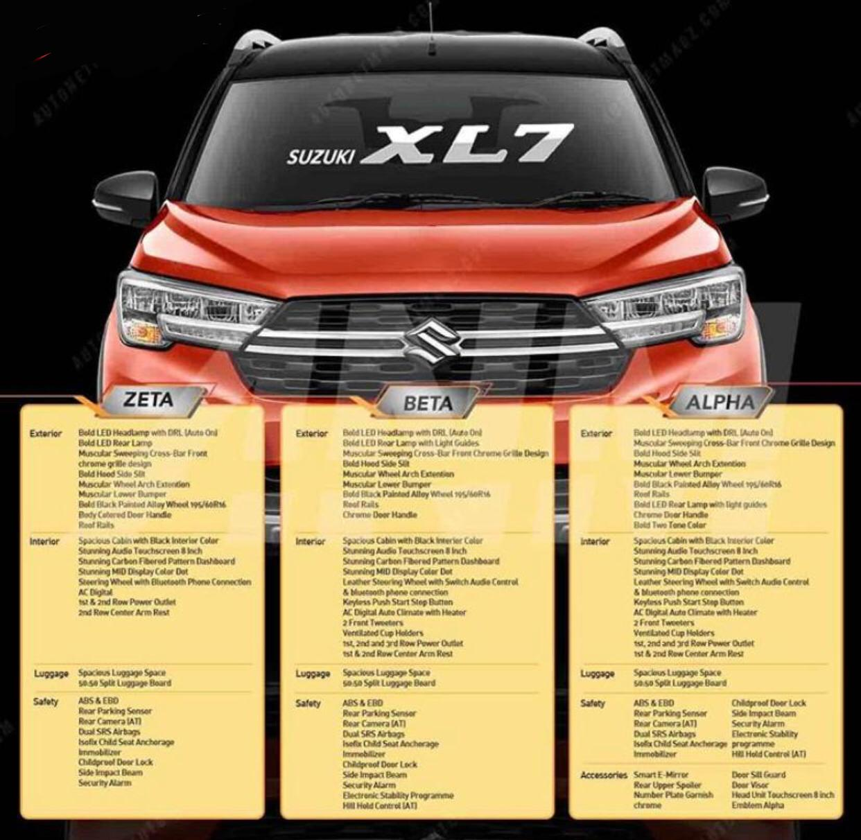 harga mobil suzuki xl7