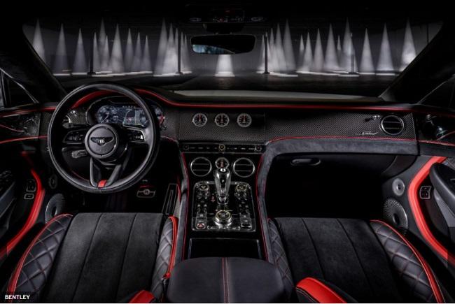 Dashboard Bentley Continental GT Speed
