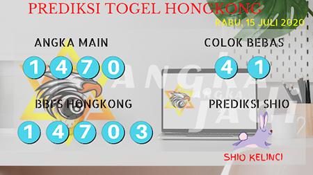 Prediksi Togel Angka jadi Hongkong HK Rabu 15 Juli 2020