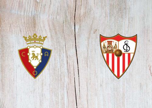 Osasuna vs Sevilla -Highlights 8 December 2019
