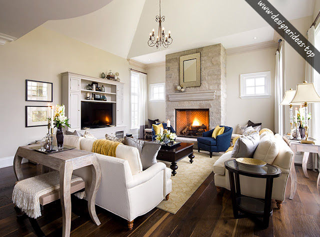 3 design ideas about the american living room - American Living Room Design