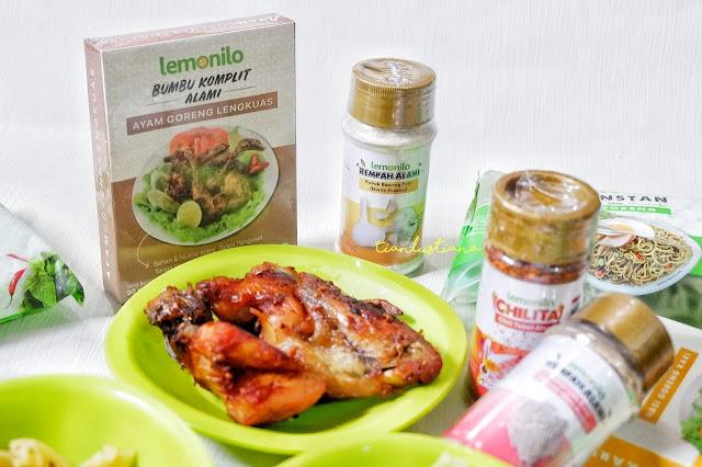 Resep Ayam Goreng Lengkuas Ala LEMONILO