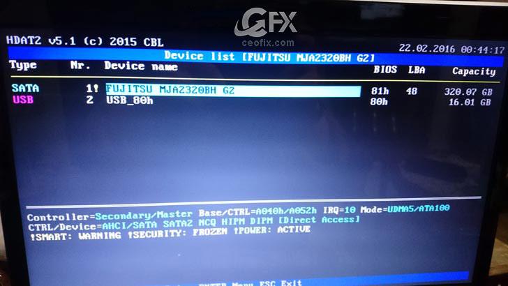 Hard Disk Bad Sector Onarma ve Düzeltme İşlemi -www.ceofix.com